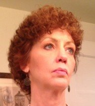 My Janis Ian look, a few months after chemo.