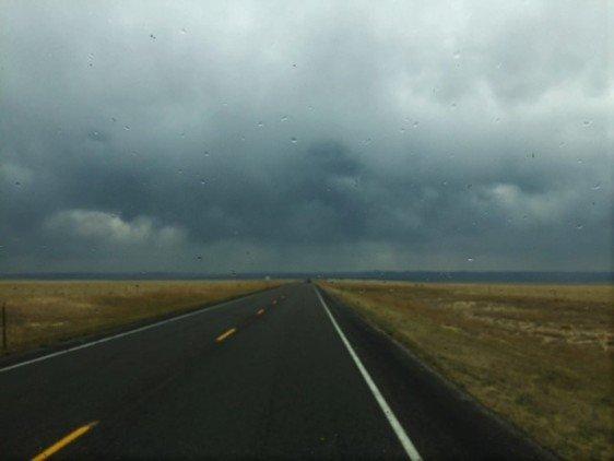 Long Road Ahead, Threatening Skies